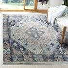 Griffeth Blue/Gray Area Rug Rug Size: Rectangle 5'1