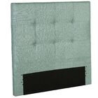 Betty Wood Upholstered Panel Headboard Size: Full, Color: Celery Green