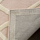 Reid Abstract Hand-Tufted Pink Area Rug Rug Size: Rectangle 4' x 6'