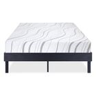Wood Platform Bed Frame Size: King, Color: Modern Black