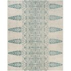 Elson Ivory/Teal Area Rug Rug Size: Rectangle 8' x 10'