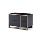 Ayaan 2 Drawer Nightstand Orientation: Left Facing