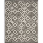 Maritza Gray/Light Gray Wool Area Rug Rug Size: Square 7'