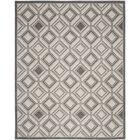 Maritza Ivory/Light Gray Area Rug Rug Size: Rectangle 8' x 10'