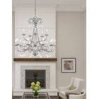 Devan 15-Light Chandelier Finish: Polished Chrome