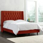 Brunella Upholstered Diamond Tufts Panel Bed Color: Mystere Hacienda, Size: Full