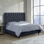 Brunella Upholstered Panel Bed Size: California King, Color: Mystere Eclipse