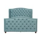 Marlon Panel Bed Size: Queen, Color: Arctic Blue