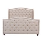 Marlon Panel Bed Size: King, Color: Sky Neutral