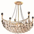 Kasha 8-Light Chandelier Finish: Gold, Crystal: Royal Cut