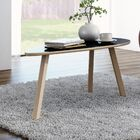 Blandford 3 Legs Coffee Table Top Color: Gloss Black