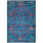 One-of-a-Kind Heilman Hand Knotted Wool Blue Area Rug