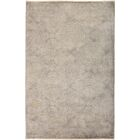 One-of-a-Kind Pritt Hand Knotted Gray Area Rug
