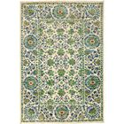 One-of-a-Kind Heilman Hand Knotted Wool Green Area Rug