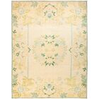 One-of-a-Kind Hein Hand Knotted Wool Yellow Area Rug