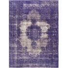 One-of-a-Kind Bigner Hand-Knotted Wool Purple Indoor Area Rug