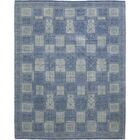 One-of-a-Kind Marcell Hand-Knotted Wool Blue Indoor Area Rug