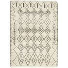 One-of-a-Kind Chelmsford Hand-Knotted Wool Ivory Indoor Area Rug