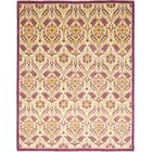 One-of-a-Kind Heilman Hand-Knotted Wool Pink/Ivory Indoor Area Rug