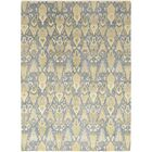 One-of-a-Kind Cote Hand-Knotted Wool Blue/Beige Indoor Area Rug