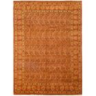 One-of-a-Kind Heimbach Hand-Knotted Wool Orange Indoor Area Rug