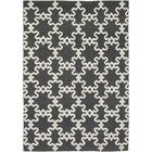 One-of-a-Kind Vasilia Hand-Knotted Wool Charcoal Indoor Area Rug
