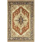 One-of-a-Kind Cort Hand-Knotted Wool Brown Indoor Area Rug