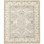 One-of-a-Kind Corrado Hand-Knotted Wool Gray/Beige Indoor Area Rug