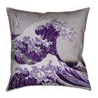 Raritan The Great Wave Indoor Throw Pillow Size: 36