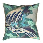 Channelle Horse and Waterfall Floor Pillow Size: 40