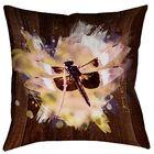 Hansard Watercolor Dragonfly Floor Pillow Size: 28