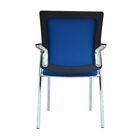 Soeren Guest Chair with Arms (Set of 2) Seat Color: Blue