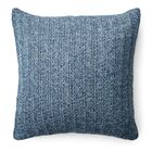 Graydon Cotton Throw Pillow Color: Indigo