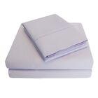 6 Piece 1000 Thread Count 100% Cotton Sheet Set Color: Lilac, Size: Queen
