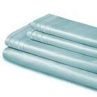 Cullen Embroidered 1000 Thread Count Egyptian-Quality Cotton Sheet Set Color: Teal, Size: California King