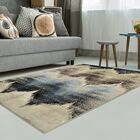 Bouknight Beige/Blue Area Rug Rug Size: Rectangle 5' x 8'