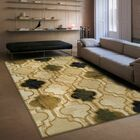 Colena Cream Area Rug Rug Size: Rectangle 8' x 10'