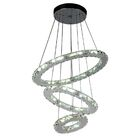 Weatherly 3-Light LED Crystal Chandelier
