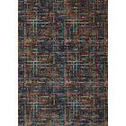 Blue/Orange Area Rug Rug Size: Rectangle 7' x 10'