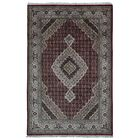 One-of-a-Kind Seaway Hand-Woven Wool/Silk Rectangle Red Area Rug