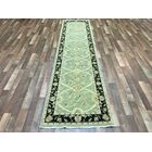One-of-a-Kind Noi Peshawar Hand-Woven Wool Green Area Rug