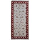 One-of-a-Kind Anjo  Hand-Woven Wool Beige Area Rug