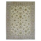 One-of-a-Kind Pearle Hand Woven Rectangle Wool Beige Area Rug