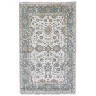 Mitchel Hand-Knotted Wool Blue/Beige Area Rug