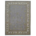 One-of-a-Kind Ardith Hand-Knotted Wool Blue Area Rug