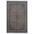 One-of-a-Kind Avonmore Hand-Woven Wool and Silk Gray Area Rug