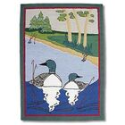 Loon Green Kids Area Rug Rug Size: Rectangle 3'10