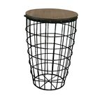 Pflugerville Mini Basket End Table