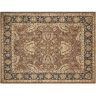 Xenos Hand-Knotted Wool Brown/Blue Area Rug
