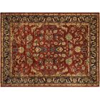 Badham Hand-Knotted Rectangle Wool Red/Blue Oriental Area Rug
